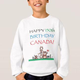 150th aniversário feliz Canadá! Agasalho