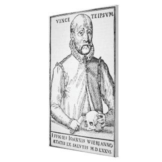 1516-88) cópias de John Wier (de uma ilustração de Impressão De Canvas Envolvida