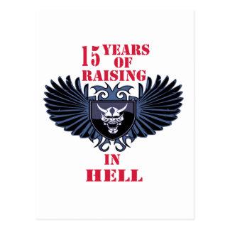 15 anos de levantamento no inferno cartão postal