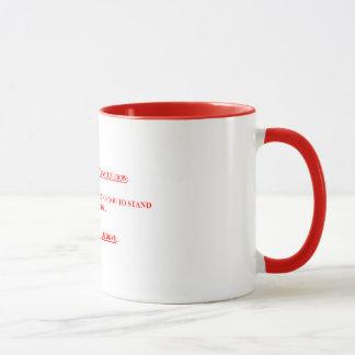 15 onças. Caneca de café com o USUPERS DA