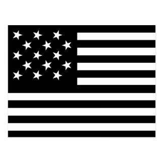 15 Star nos bandeira Cartão Postal