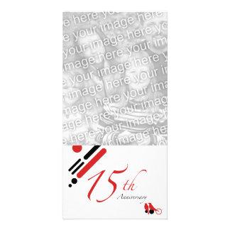 15o Aniversário (pássaros da modificação) Cartões Com Foto
