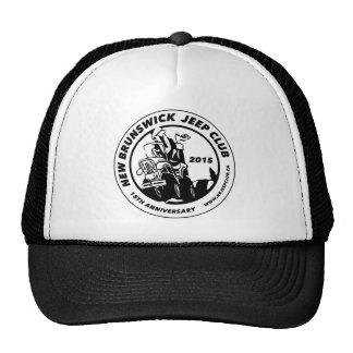 15o Branco do logotipo do clube do aniversário Boné