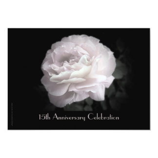 15o Rosa do rosa do convite da celebração do