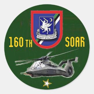 160th Regimento da aviação das operações especiais Adesivo Redondo