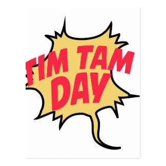16 de fevereiro - dia de Tim Tam - dia da Cartão Postal