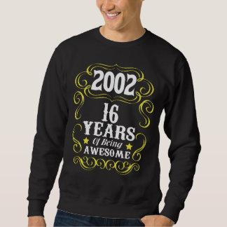 16o Camisa do aniversário para meninas/meninos