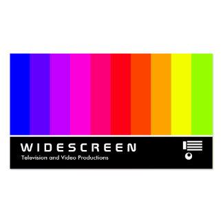 176 Widescreen - Bares de cor Cartoes De Visitas