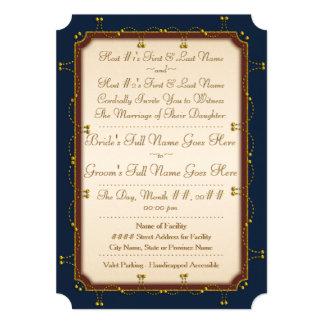 1776 coleções Wedding (a cerimónia convida) Convite 12.7 X 17.78cm