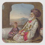 1793-1863) reis de Dost Mahommed (de Caubul e de s Adesivo