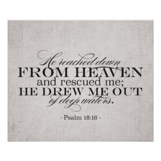 18:16 do salmo poster