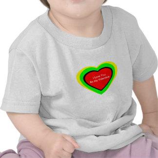 18 corações da cor você escolhe o jGibney do Tshirts