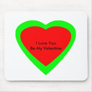 18 corações da cor você escolhe o jGibney do Mouse Pad