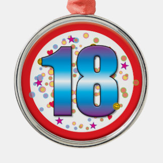 18o Aniversário v2 Enfeites Para Arvores De Natal