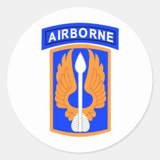 18o Brigada de aviação Adesivos Em Formato Redondos
