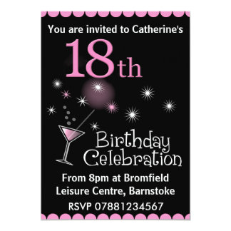 18o Convite de aniversário