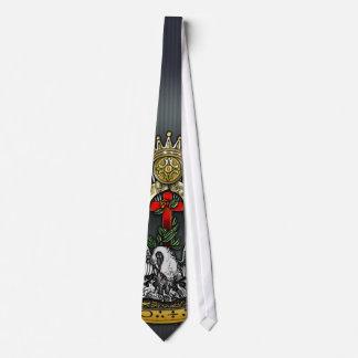 18o Grau: Cavaleiro do rosa Croix Gravata