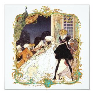 18th Century Storybook Ball & Peacock Invitations