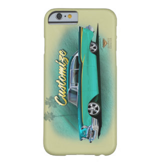 1957 caso chevy do iPhone 6 do hot rod Capa Barely There Para iPhone 6