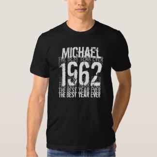 1962 o melhor aniversário do ano nunca - t-shirts
