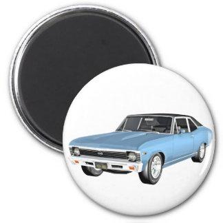 1968 claro - carros azuis do músculo imã