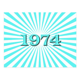 1974 CARTAO POSTAL