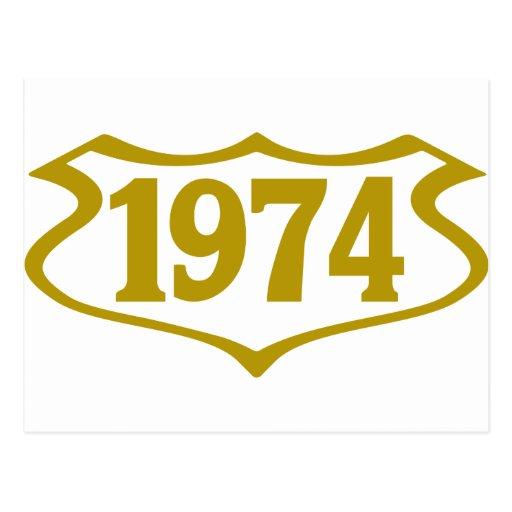 1974 shield.png cartão postal