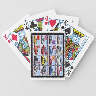 1978-2013 montagem de Corveta da edição especial Baralho Para Poker