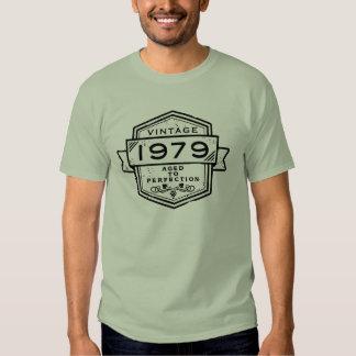 1979 envelhecido à roupa da perfeição t-shirt