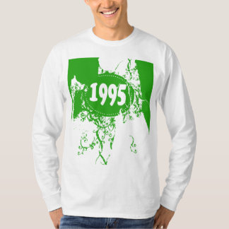 1995 - Vintage verde retro - t-shirt