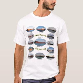 1.000 pés de página na camisa dos grandes lagos
