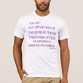 1:16 da ROM para eu não sou humilhado do Camiseta