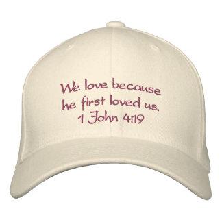 1 4:19 de John bordou o chapéu Bone