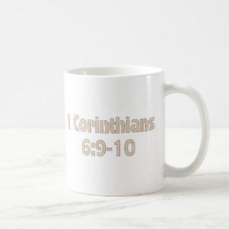1 6:9 dos Corinthians - 10 Caneca