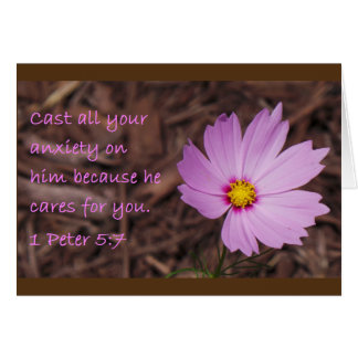 1 beira do marrom da flor do cartão da escritura