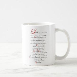1 Corinthians 13 Caneca De Café