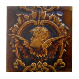1 do azulejo antigo Repros do anjo do querubim do