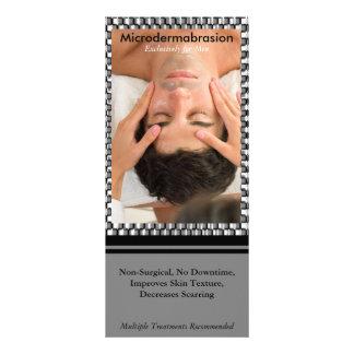 1 urbano, facial masculino, Microdermabra… Modelo De Panfleto Informativo