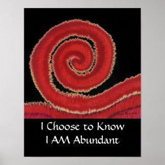 1st-Root Chakra #1: Eu escolho saber que eu sou Poster