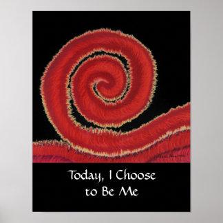 1st-Root Chakra #1: Hoje, eu escolho ser mim Poster