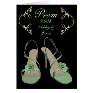 2008 cartões reais do baile de formatura