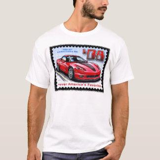 2008 edição limitada especial Corveta 427 Z06 Camiseta