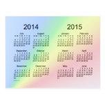 2014-2015 calendário do ano escolar mini por Janz