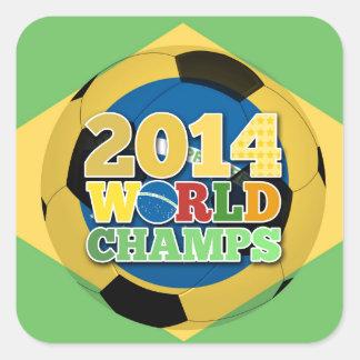 2014 bola dos campeões do mundo - sutiã adesivo quadrado