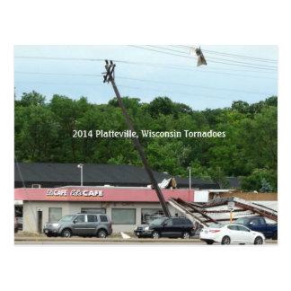 2014 Platteville, cartão das recordações dos
