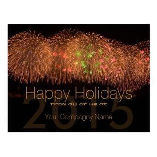 2015 cartões incorporados customizáveis dos cartao postal