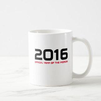 2016 anos oficiais da caneca do parvo