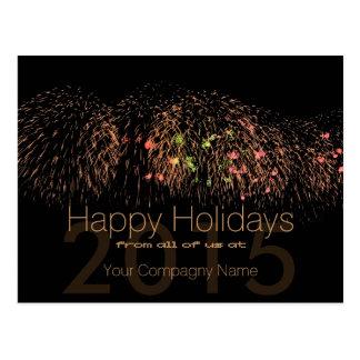 2016 boas festas cartões incorporados cartão postal