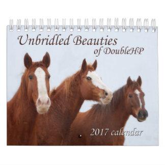 2017 belezas desenfreadas do calendário de