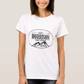 2017 camisas da reunião de Morrison - cores claras